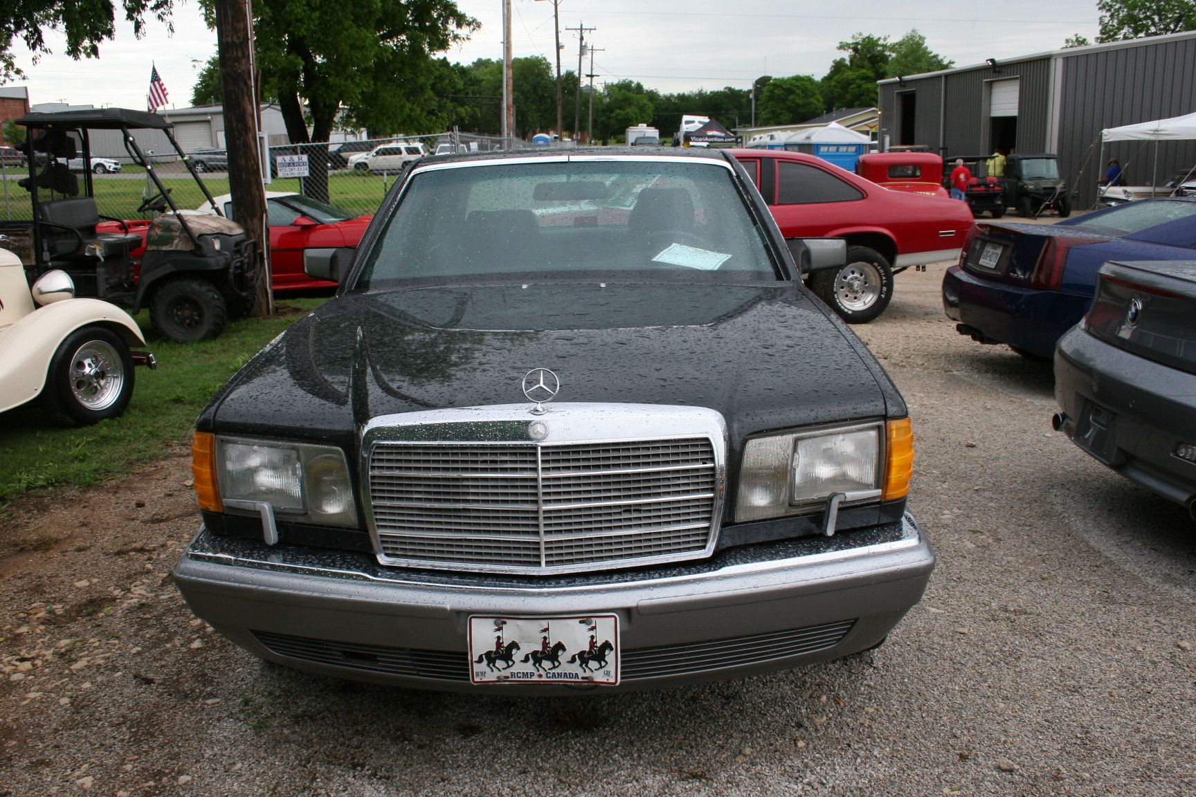 3rd Image of a 1987 MERCEDES-BENZ 560 560SEL