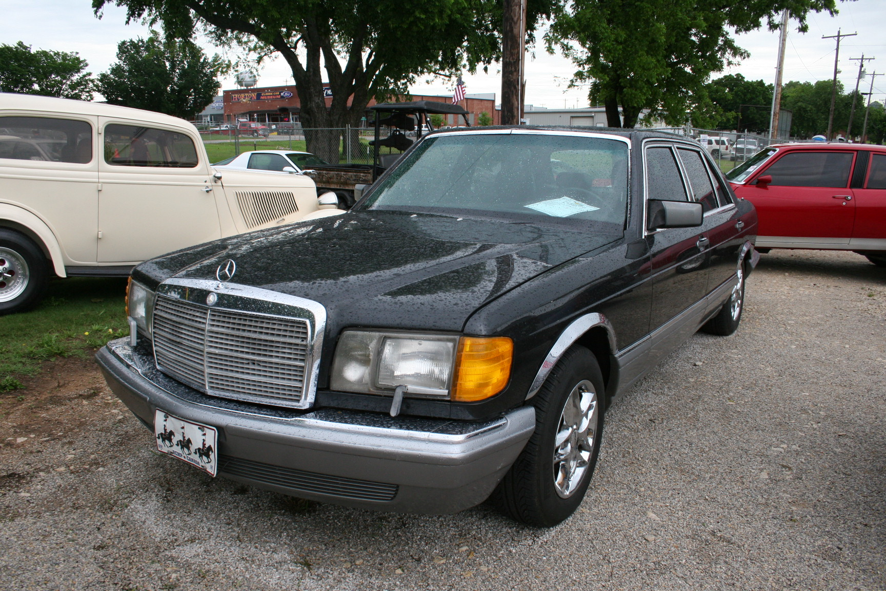 5th Image of a 1987 MERCEDES-BENZ 560 560SEL