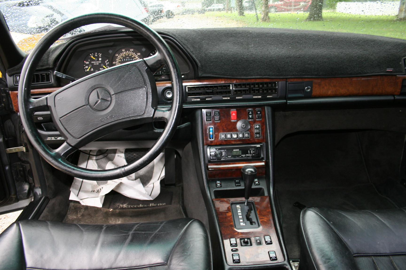 6th Image of a 1987 MERCEDES-BENZ 560 560SEL