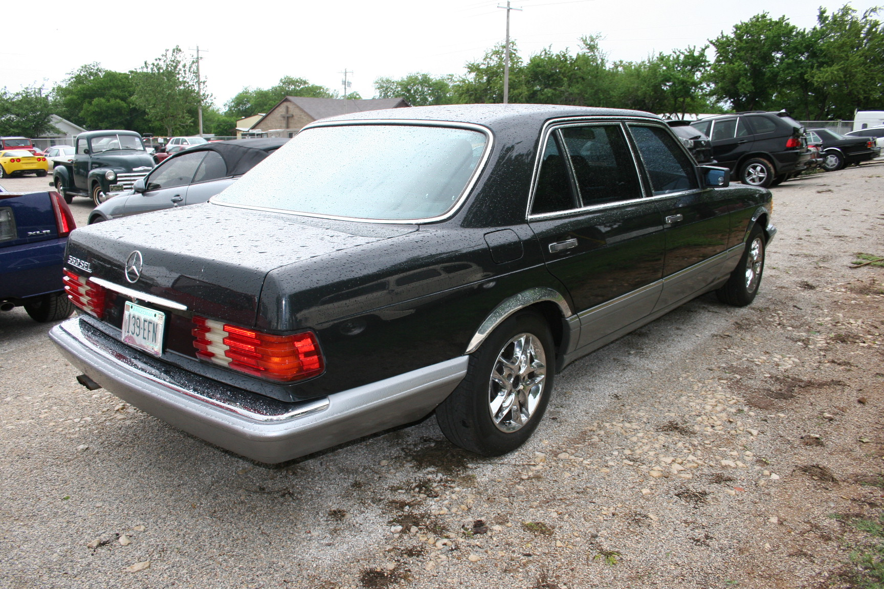 4th Image of a 1987 MERCEDES-BENZ 560 560SEL
