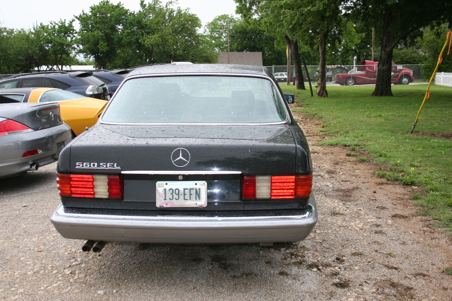 7th Image of a 1987 MERCEDES-BENZ 560 560SEL