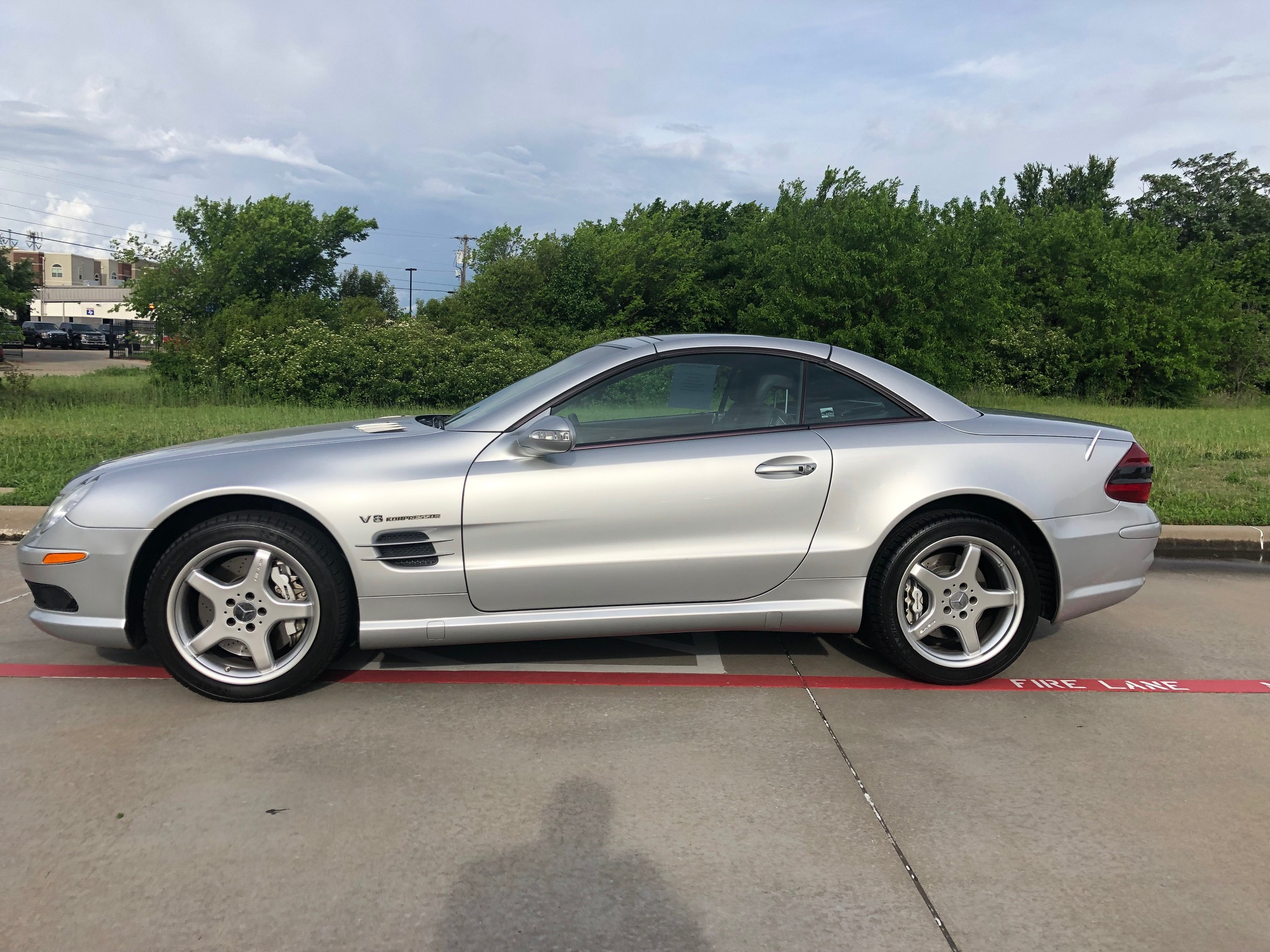 7th Image of a 2003 MERCEDES-BENZ SL 55 AMG