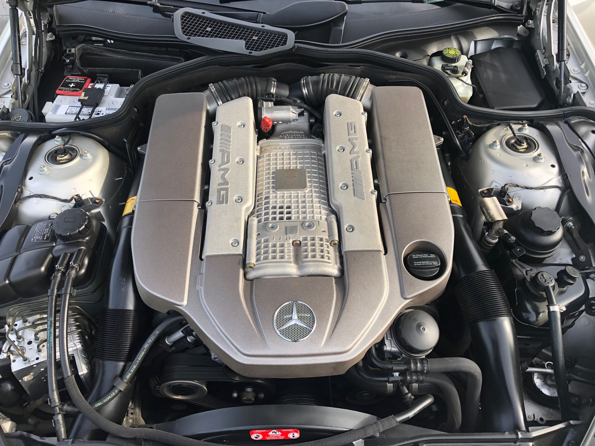 2nd Image of a 2003 MERCEDES-BENZ SL 55 AMG