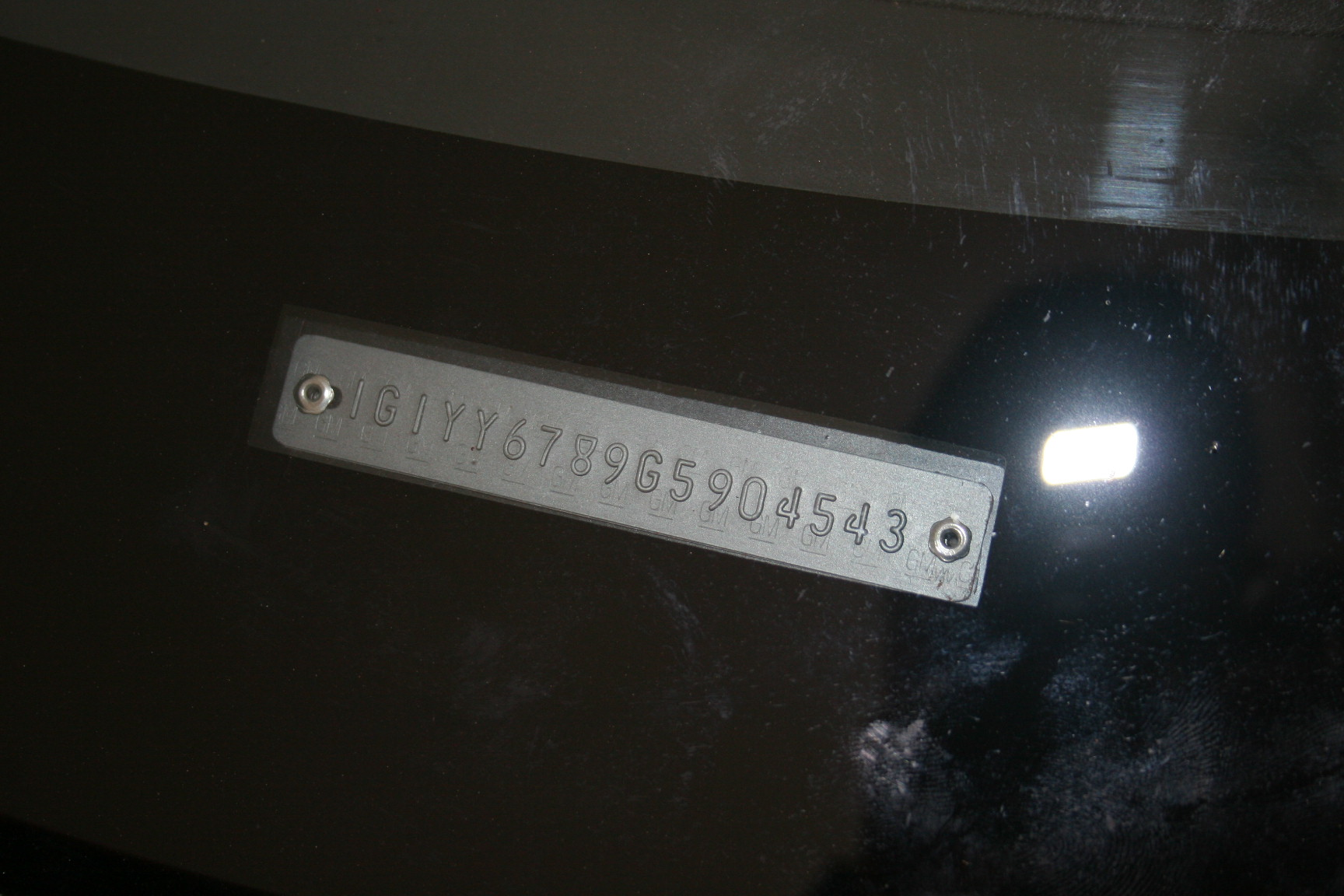 4th Image of a 1986 CHEVROLET CORVETTE