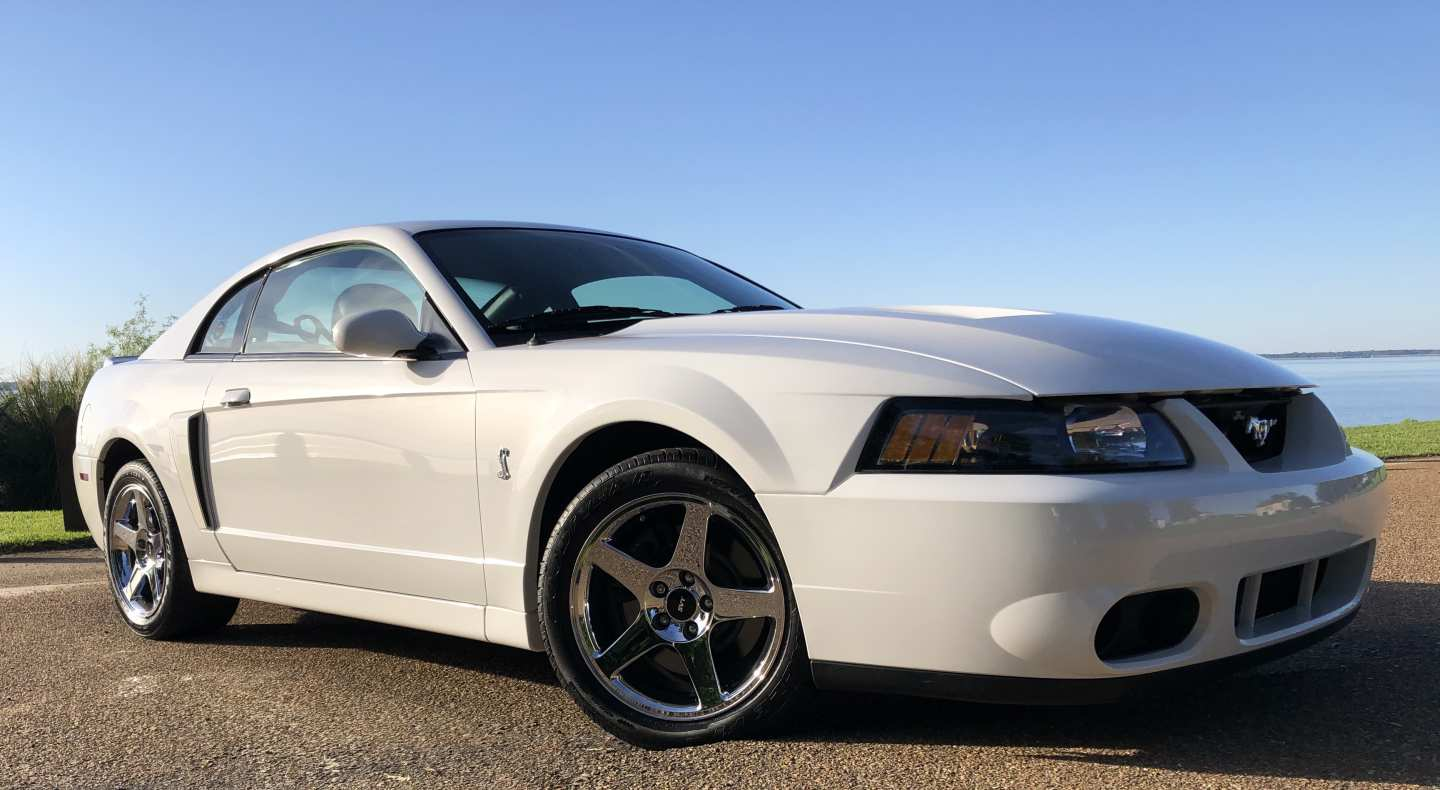9th Image of a 2004 FORD MUSTANG COBRA SVT
