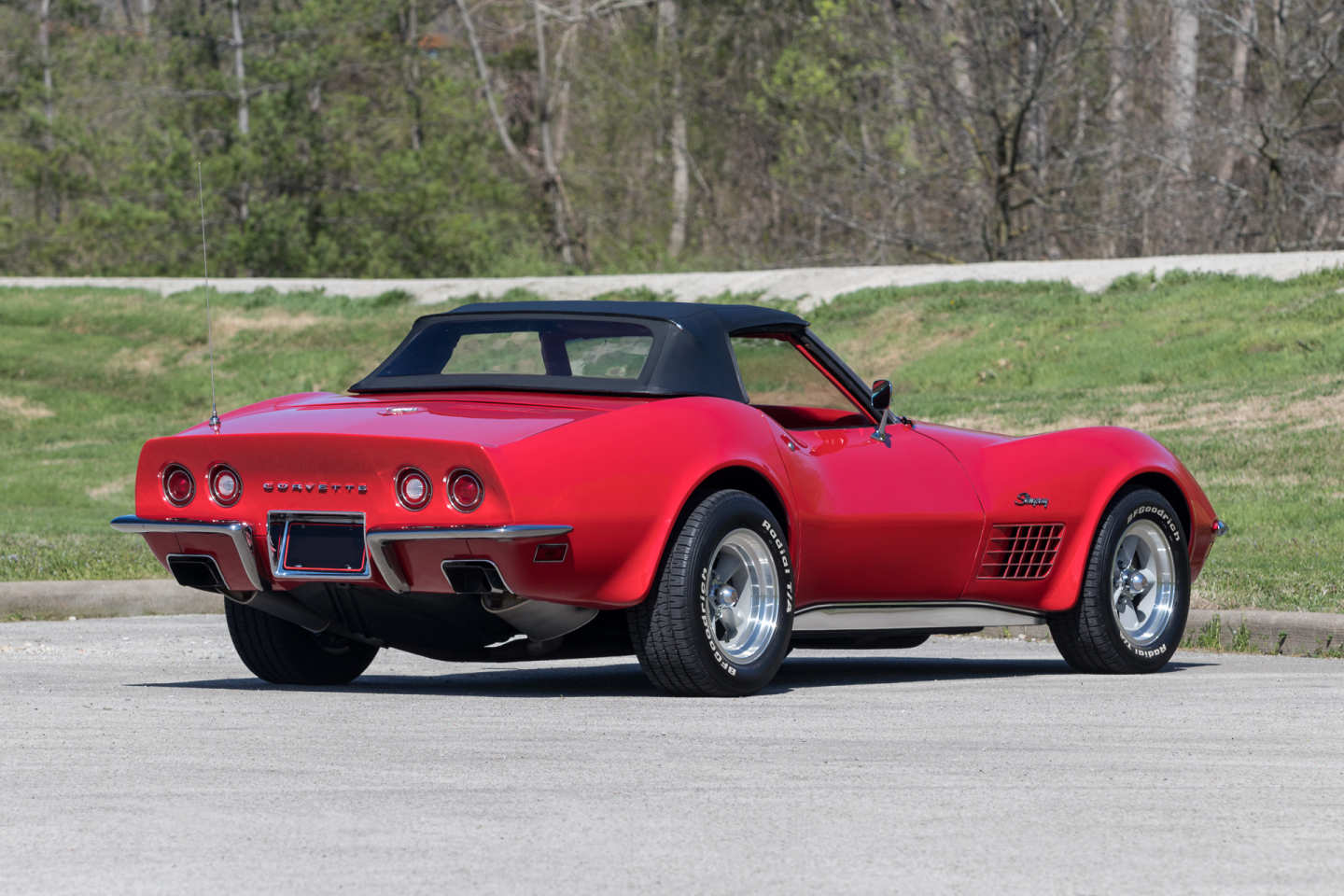 4th Image of a 1971 CHEVROLET CORVETTE