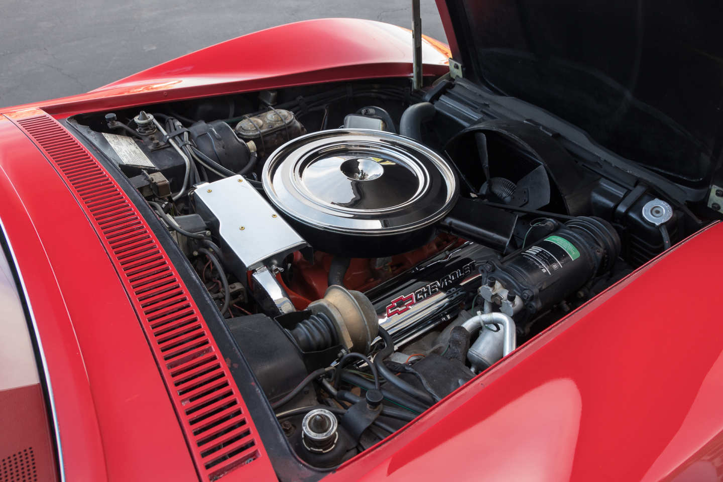 6th Image of a 1971 CHEVROLET CORVETTE