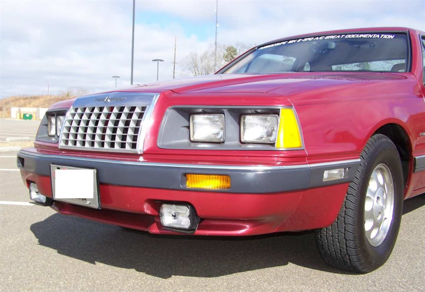 37th Image of a 1984 FORD THUNDERBIRD