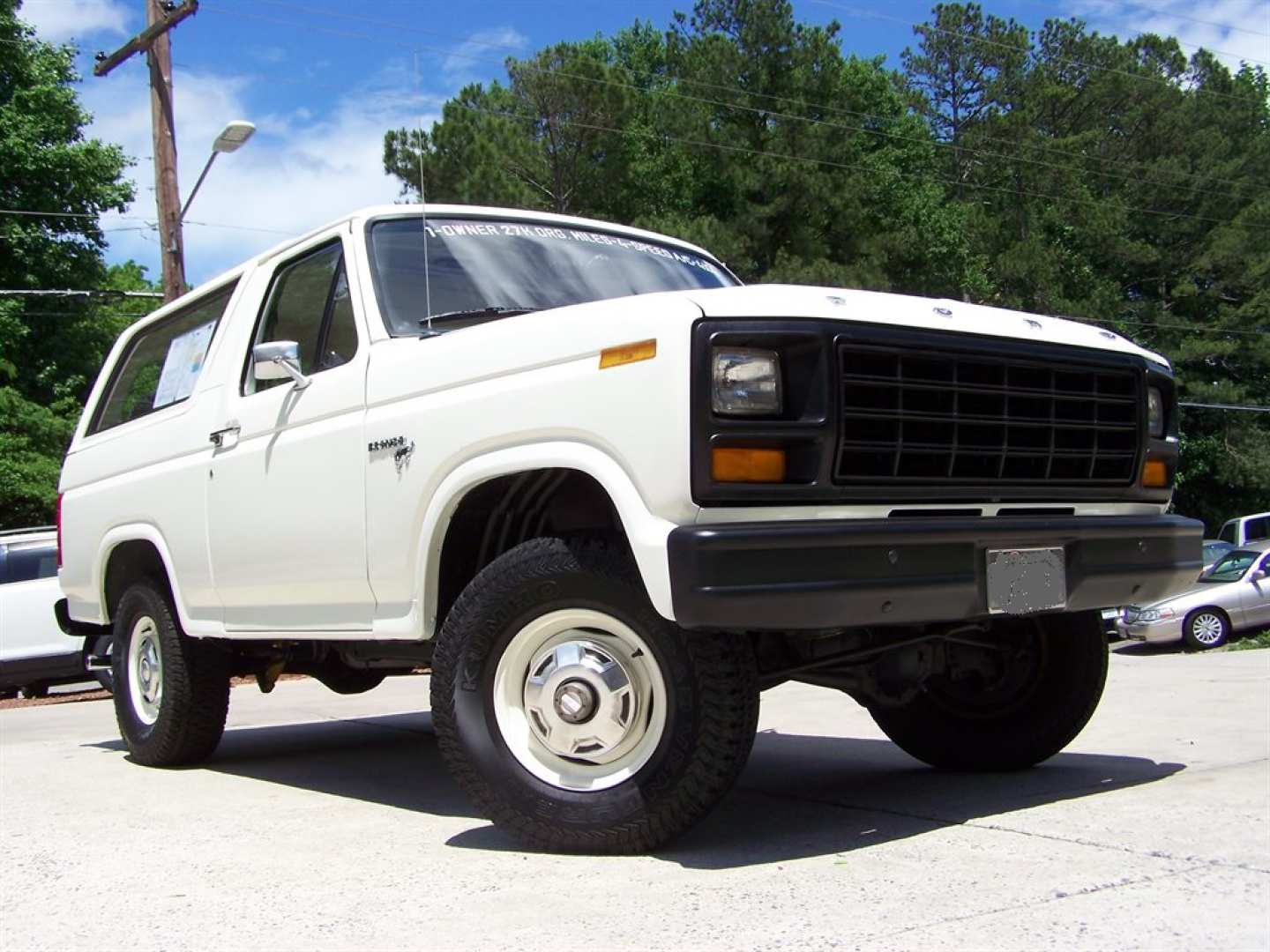 4th Image of a 1981 FORD BRONCO CUSTOM