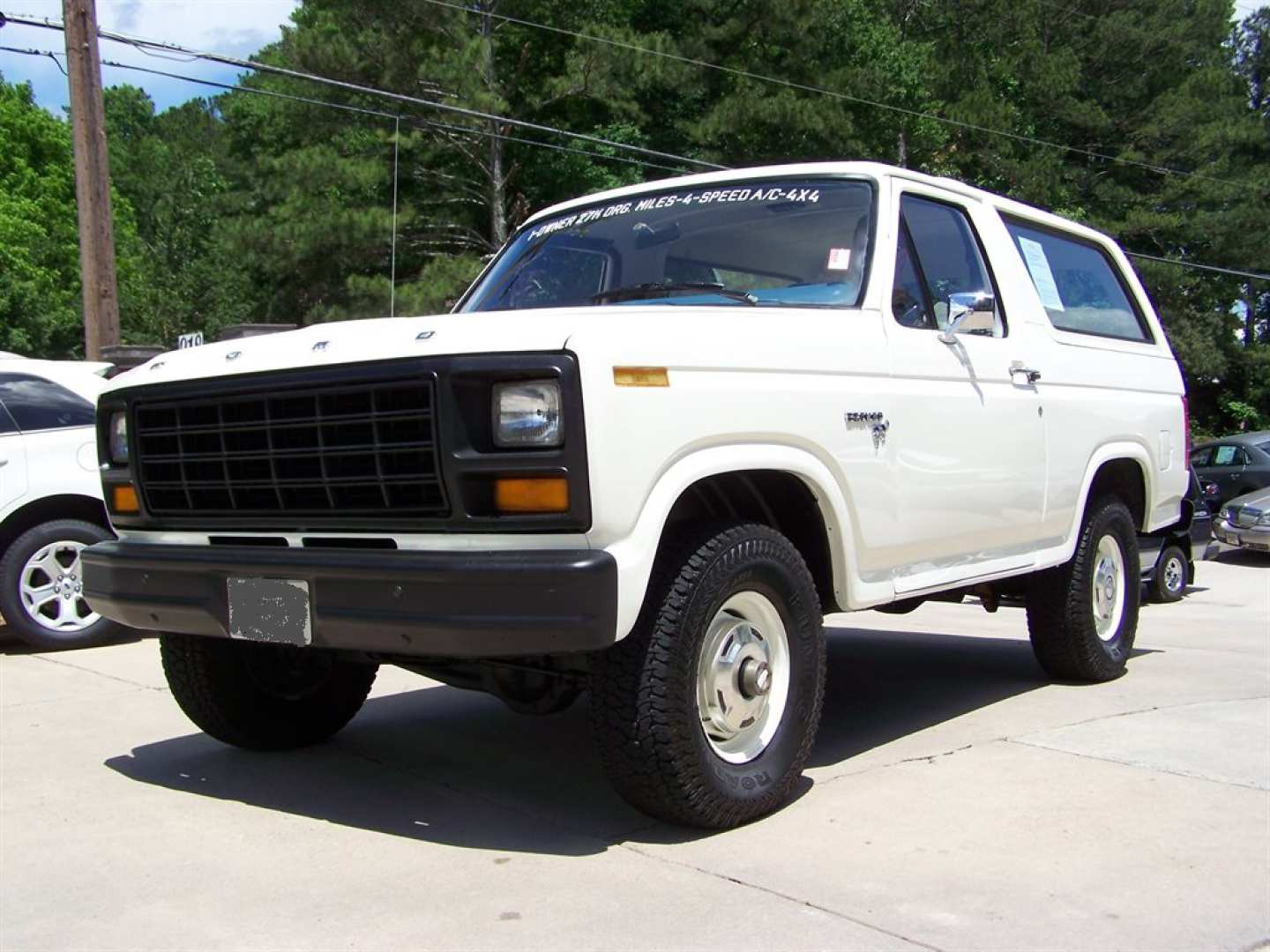 7th Image of a 1981 FORD BRONCO CUSTOM