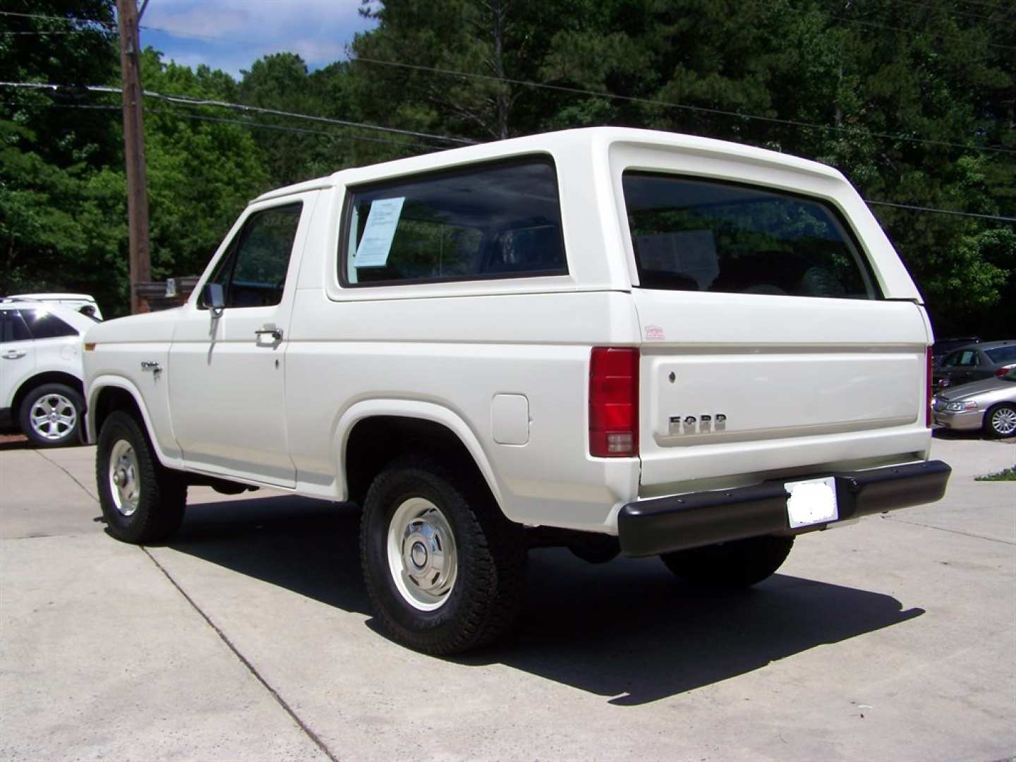 18th Image of a 1981 FORD BRONCO CUSTOM