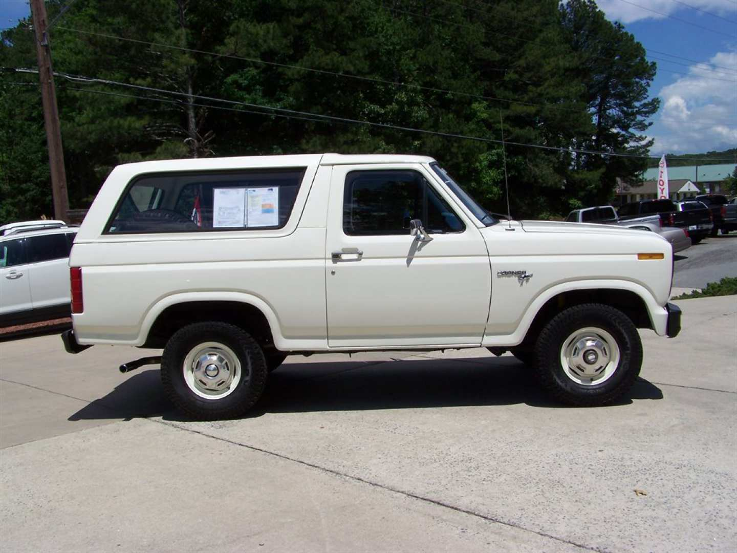 15th Image of a 1981 FORD BRONCO CUSTOM