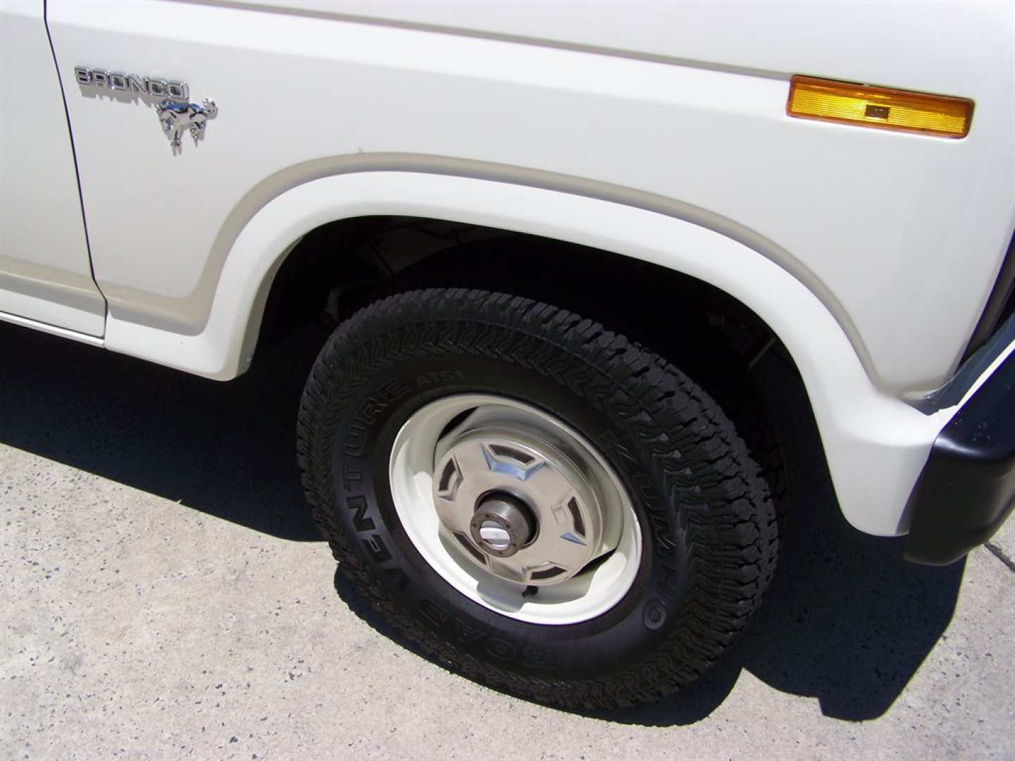 3rd Image of a 1981 FORD BRONCO CUSTOM