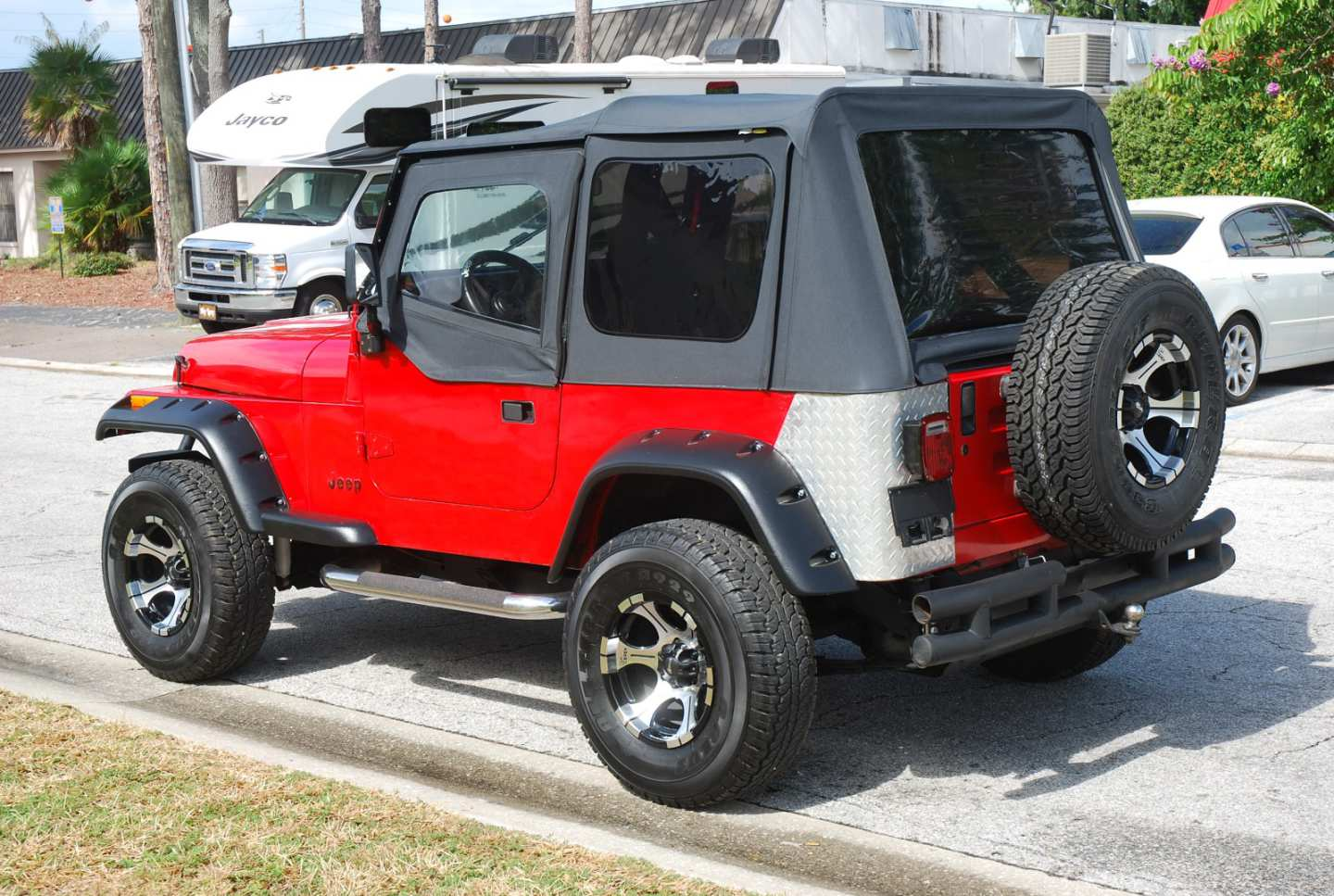 6th Image of a 1989 JEEP WRANGLER