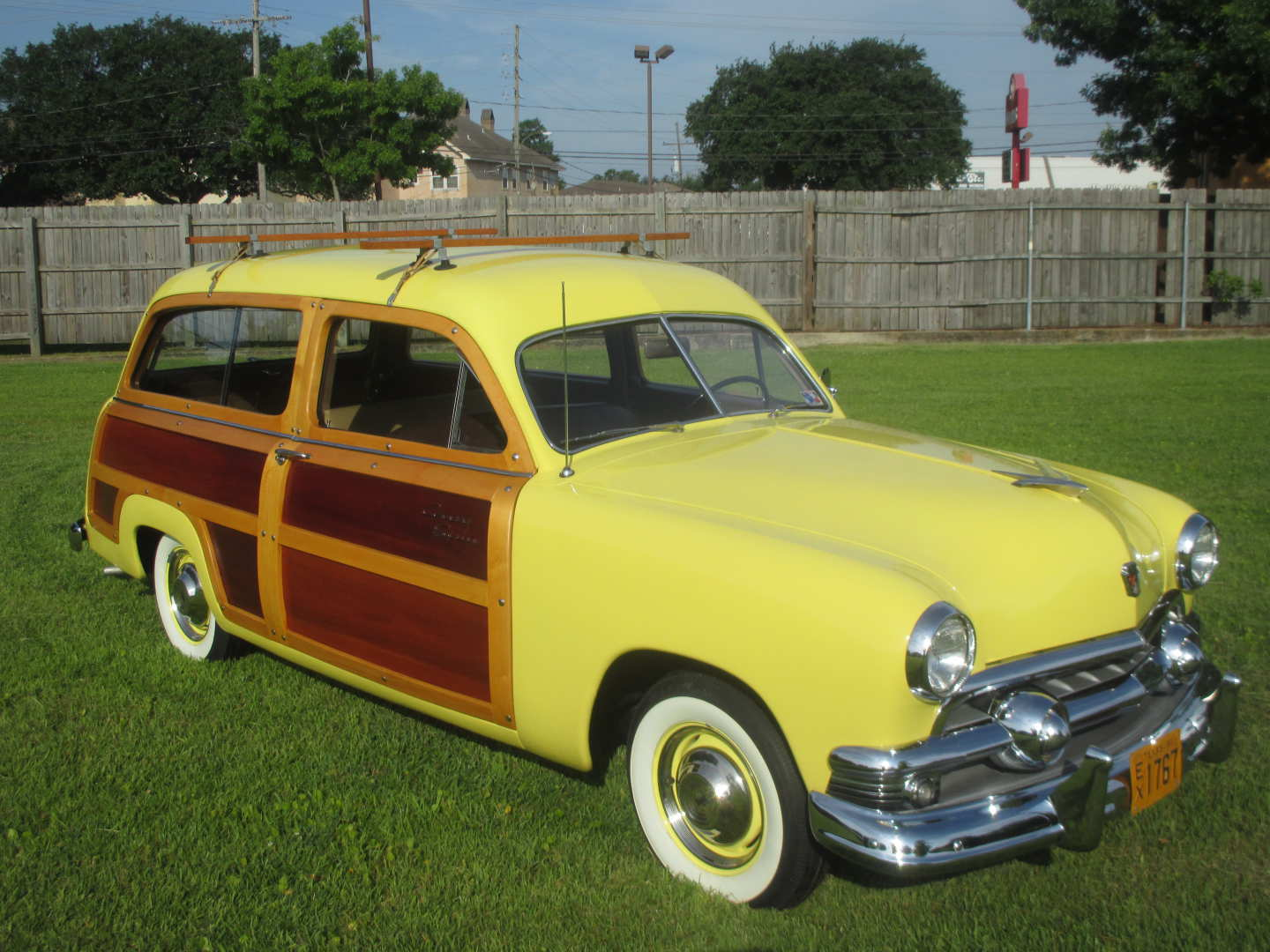 4th Image of a 1951 FORD COUNTRY SQUIRE