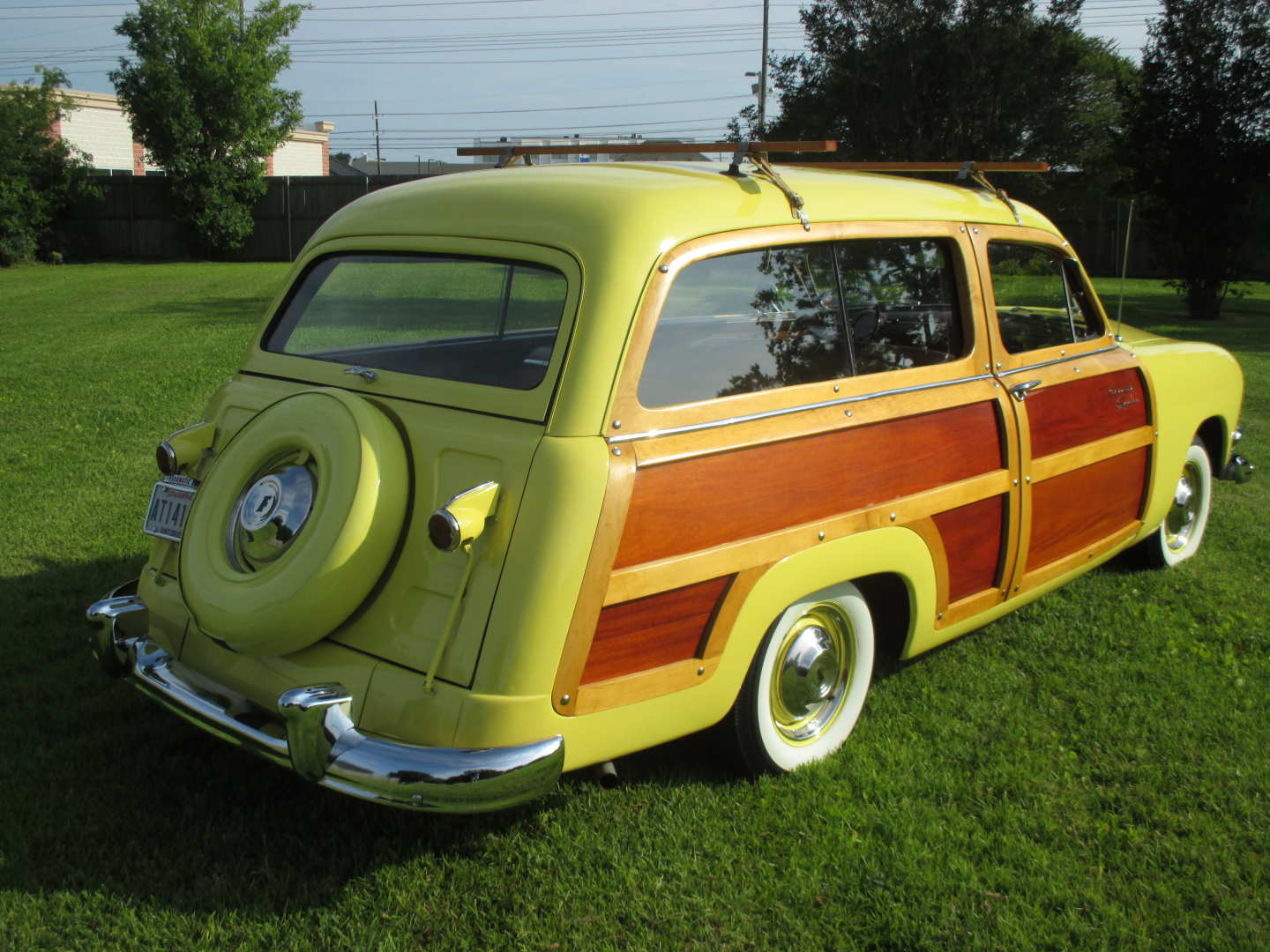 8th Image of a 1951 FORD COUNTRY SQUIRE