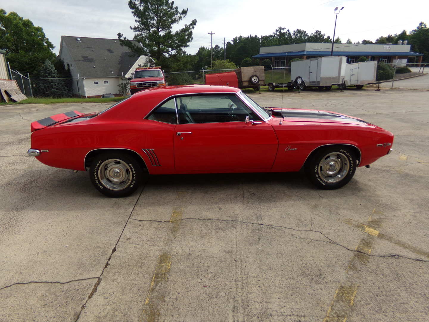 7th Image of a 1969 CHEVROLET CAMARO