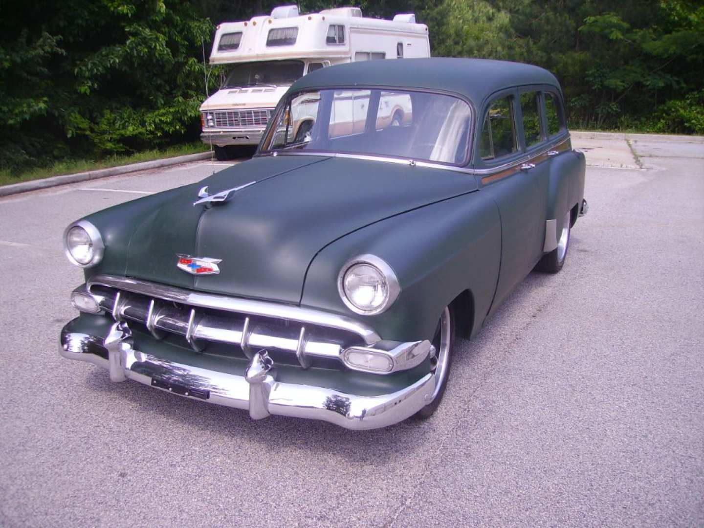 2nd Image of a 1954 CHEVROLET BELAIR 150