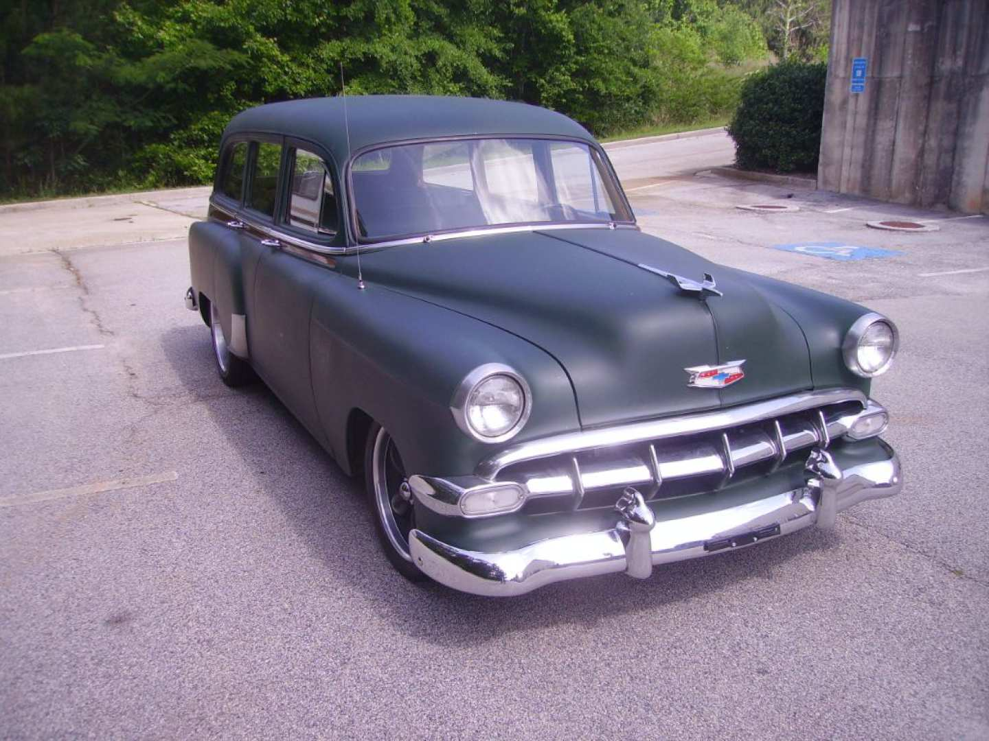 11th Image of a 1954 CHEVROLET BELAIR 150