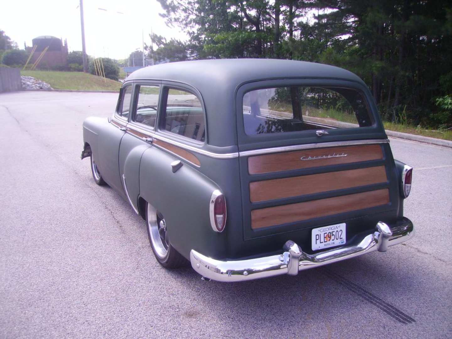 3rd Image of a 1954 CHEVROLET BELAIR 150