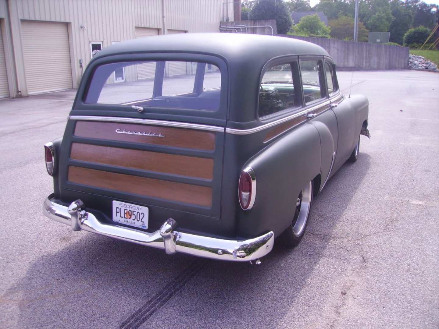 4th Image of a 1954 CHEVROLET BELAIR 150