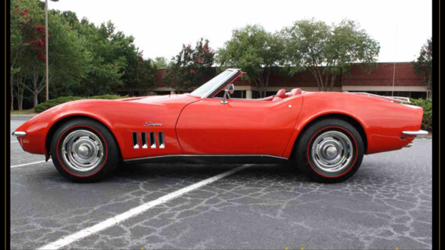 4th Image of a 1969 CHEVROLET CORVETTE