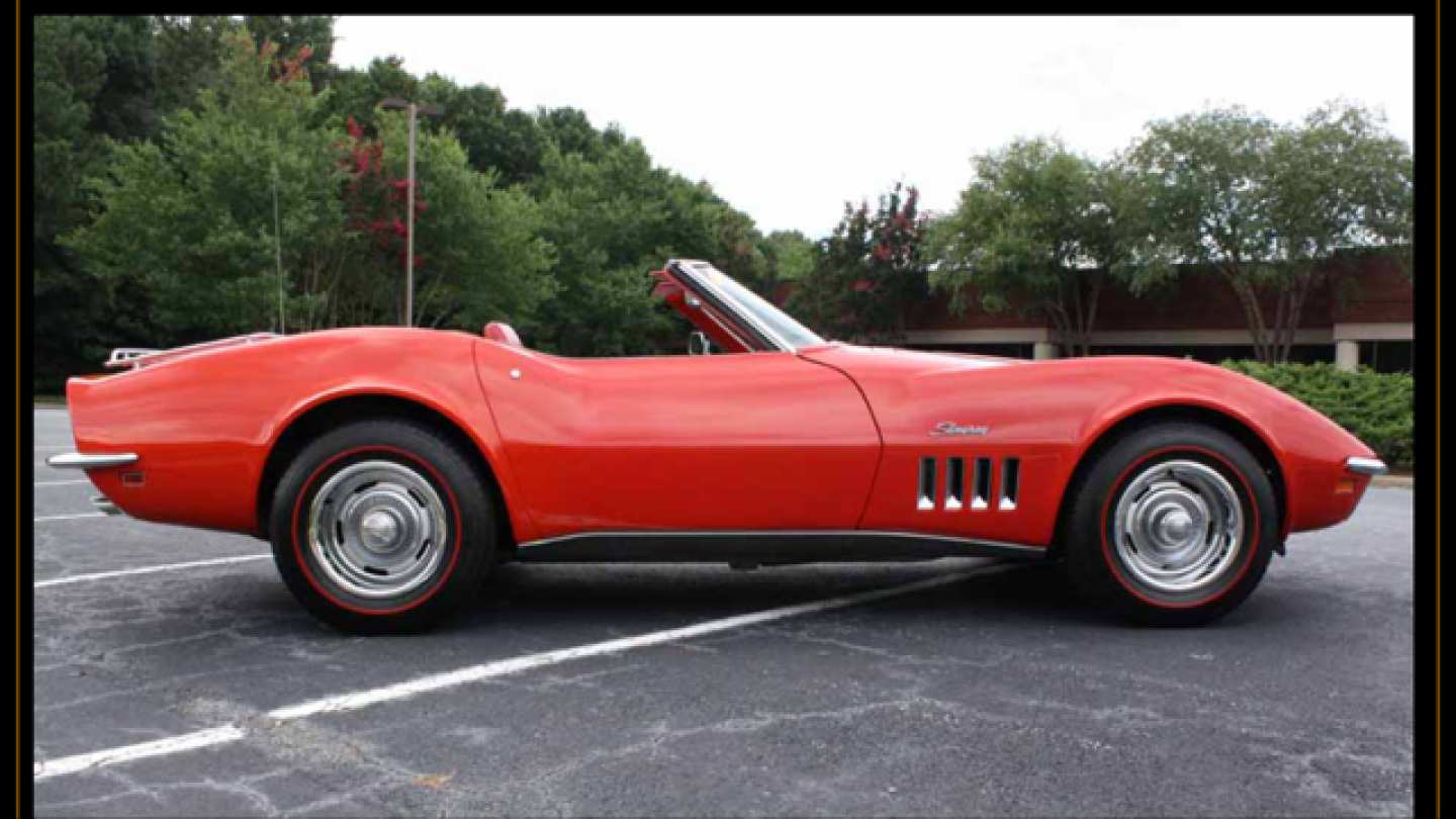 5th Image of a 1969 CHEVROLET CORVETTE