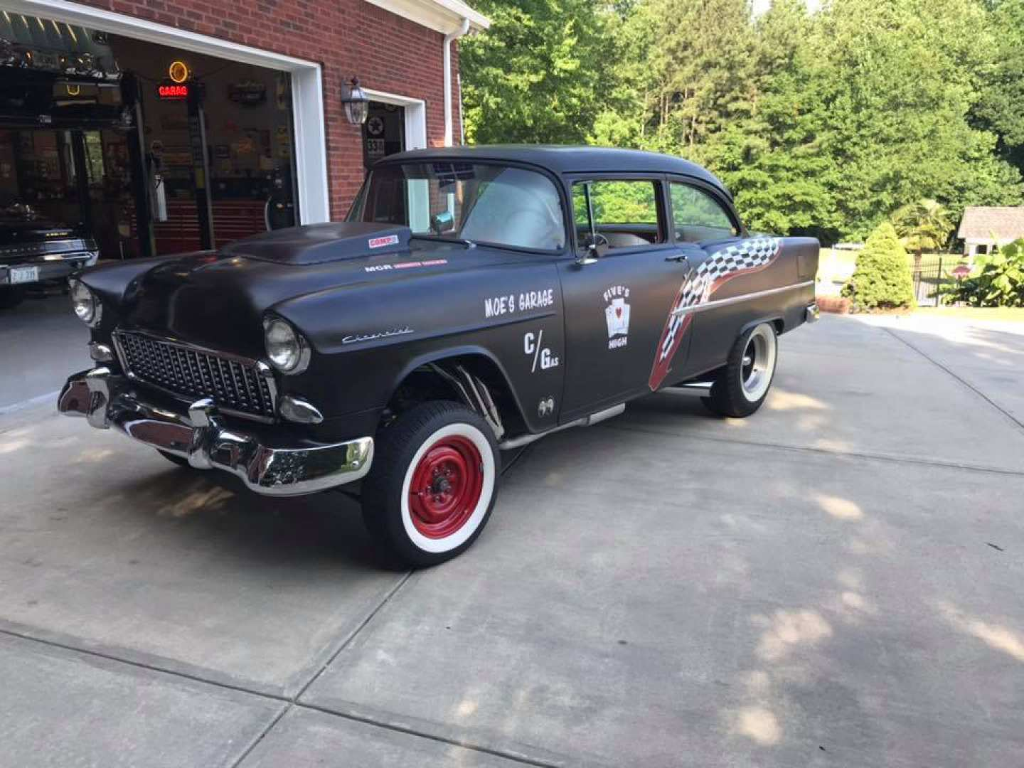 1st Image of a 1955 CHEVROLET GASSER
