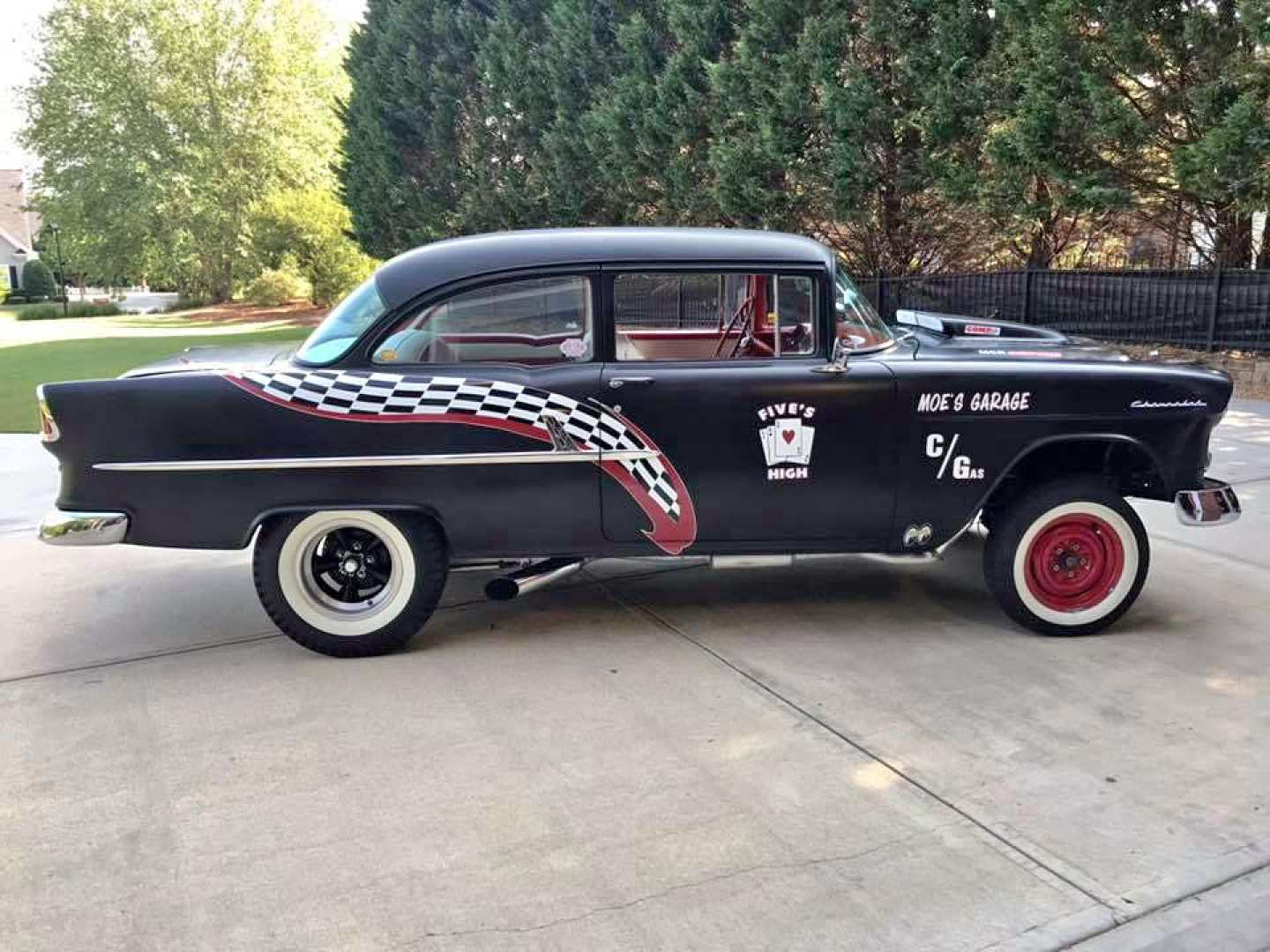 10th Image of a 1955 CHEVROLET GASSER