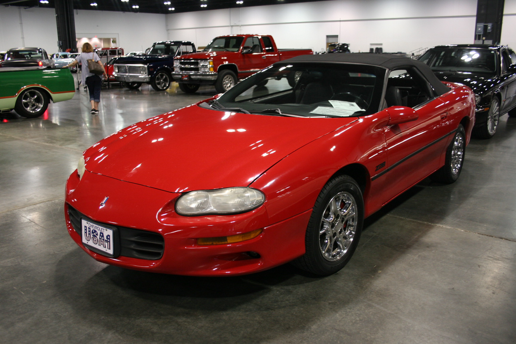 5th Image of a 2002 CHEVROLET CAMARO Z28