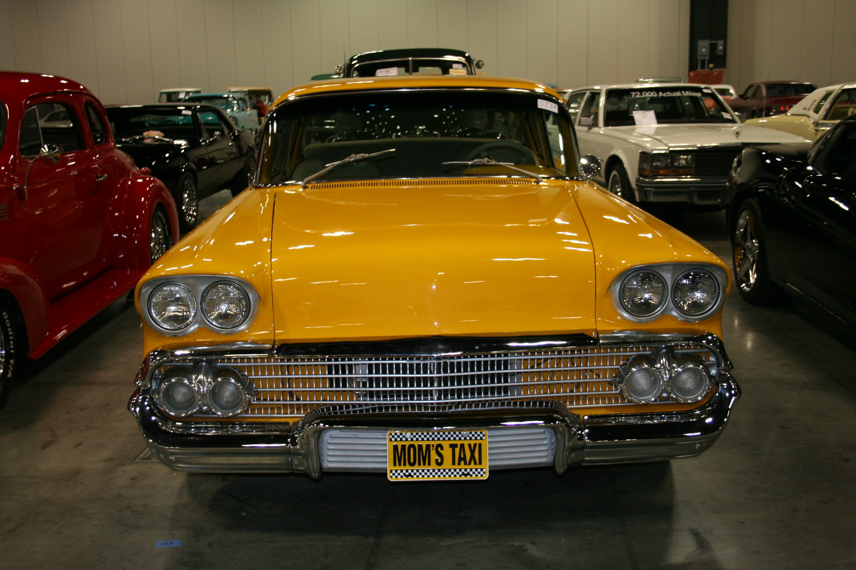 9th Image of a 1958 CHEVROLET BISCAYNE 2DR
