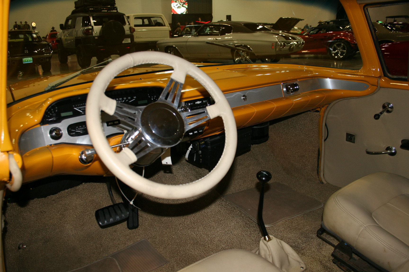 3rd Image of a 1958 CHEVROLET BISCAYNE 2DR