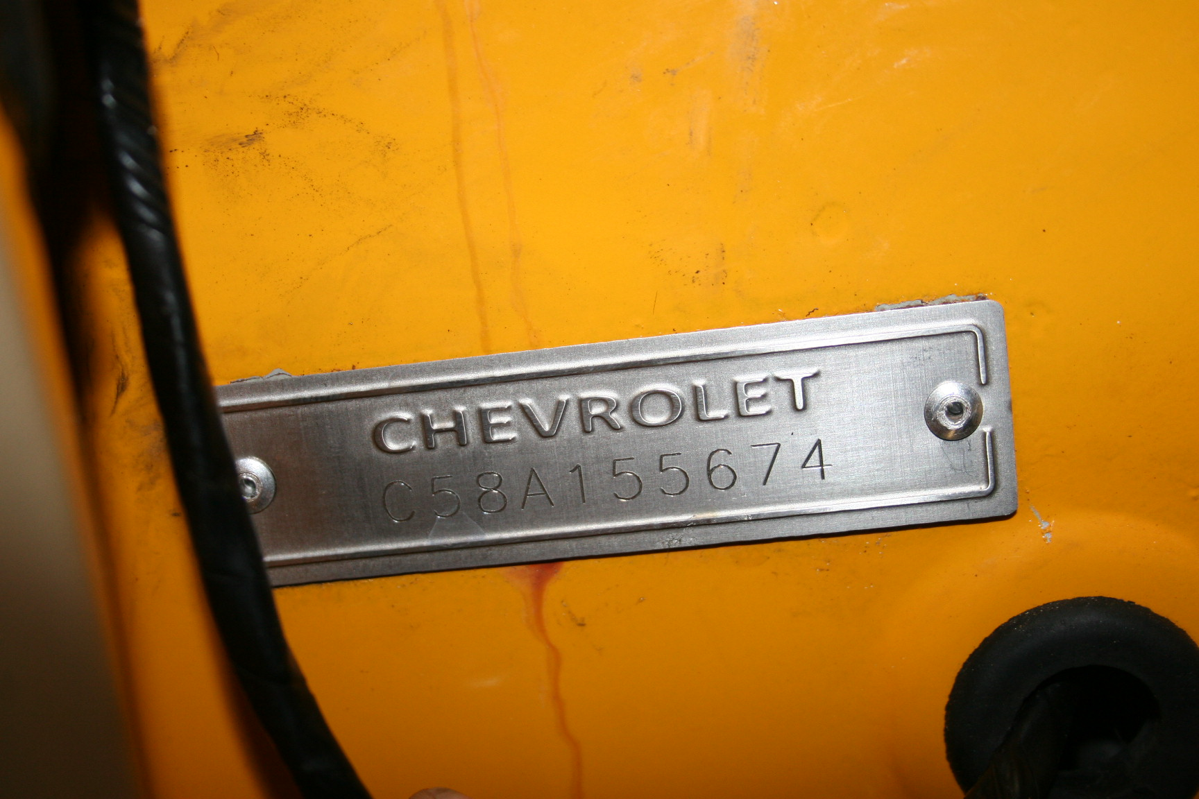 2nd Image of a 1958 CHEVROLET BISCAYNE 2DR