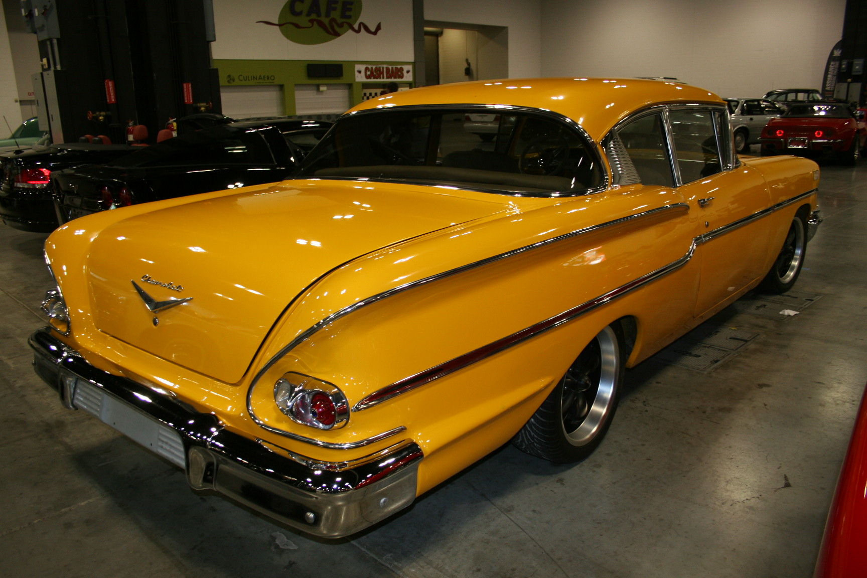 11th Image of a 1958 CHEVROLET BISCAYNE 2DR