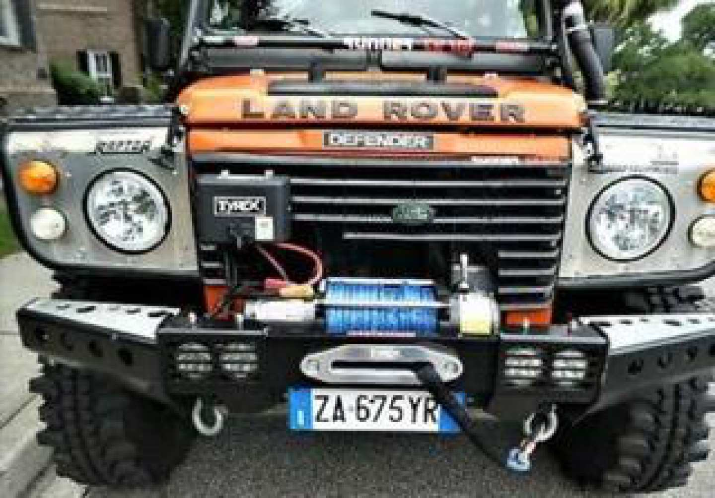 6th Image of a 1991 LAND ROVER DEFENDER