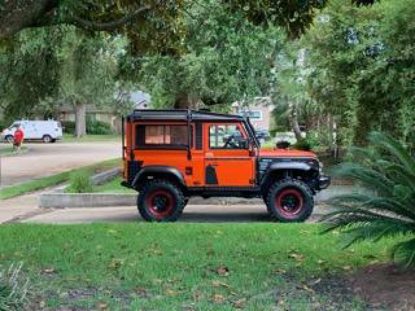 5th Image of a 1991 LAND ROVER DEFENDER