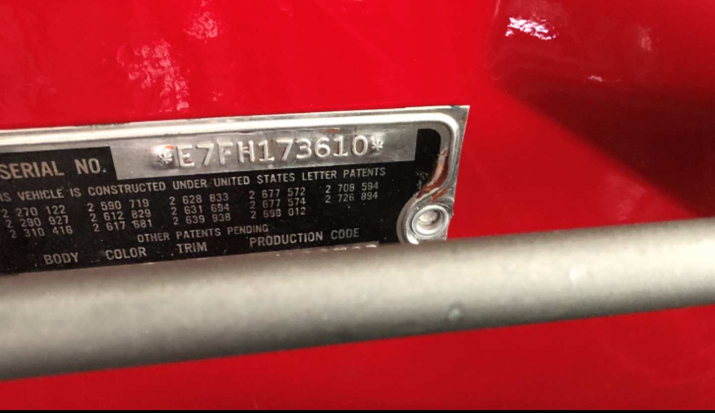 2nd Image of a 1957 FORD THUNDERBIRD