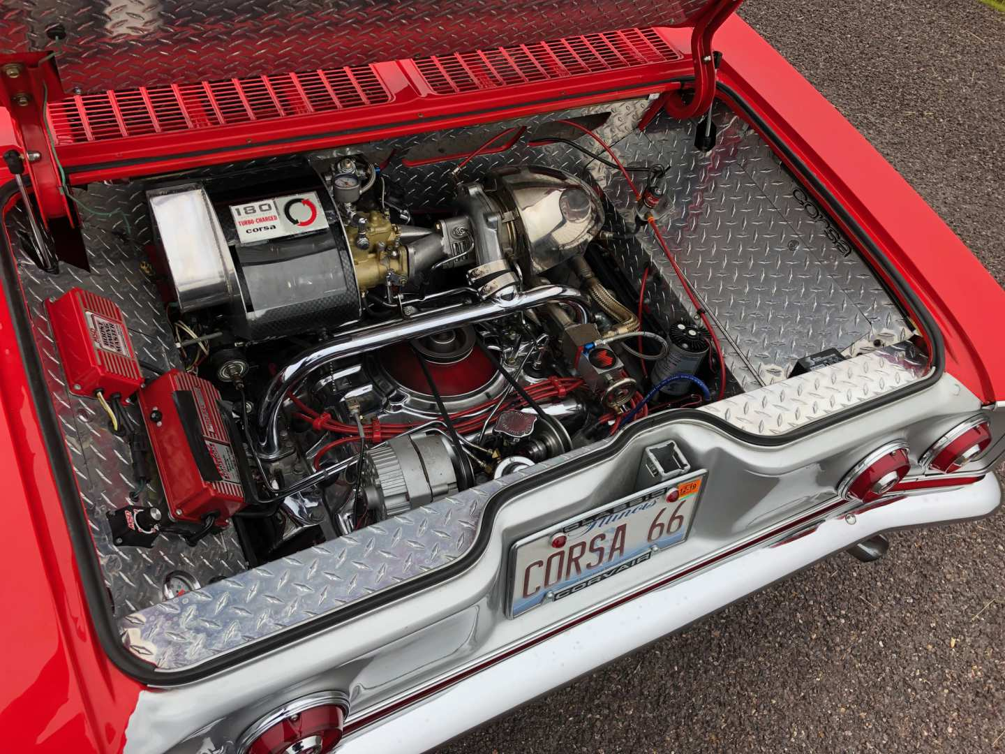 2nd Image of a 1966 CHEVROLET CORVAIR