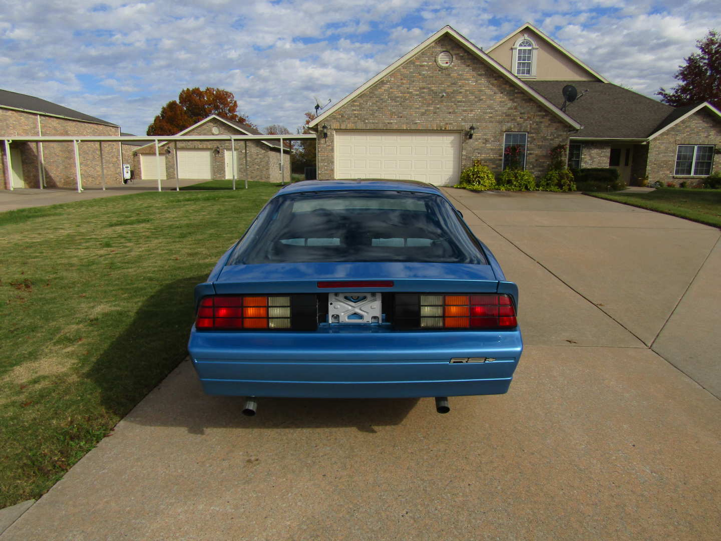 8th Image of a 1989 CHEVROLET CAMARO RS