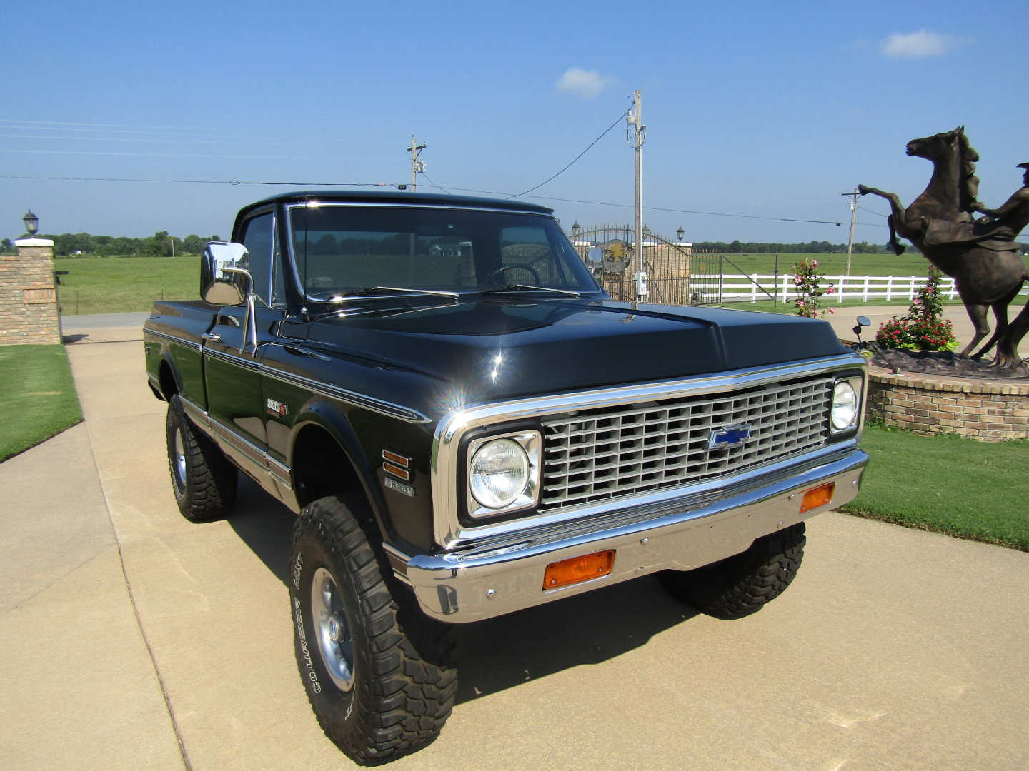 11th Image of a 1972 CHEVROLET CHEYENNE SUPER
