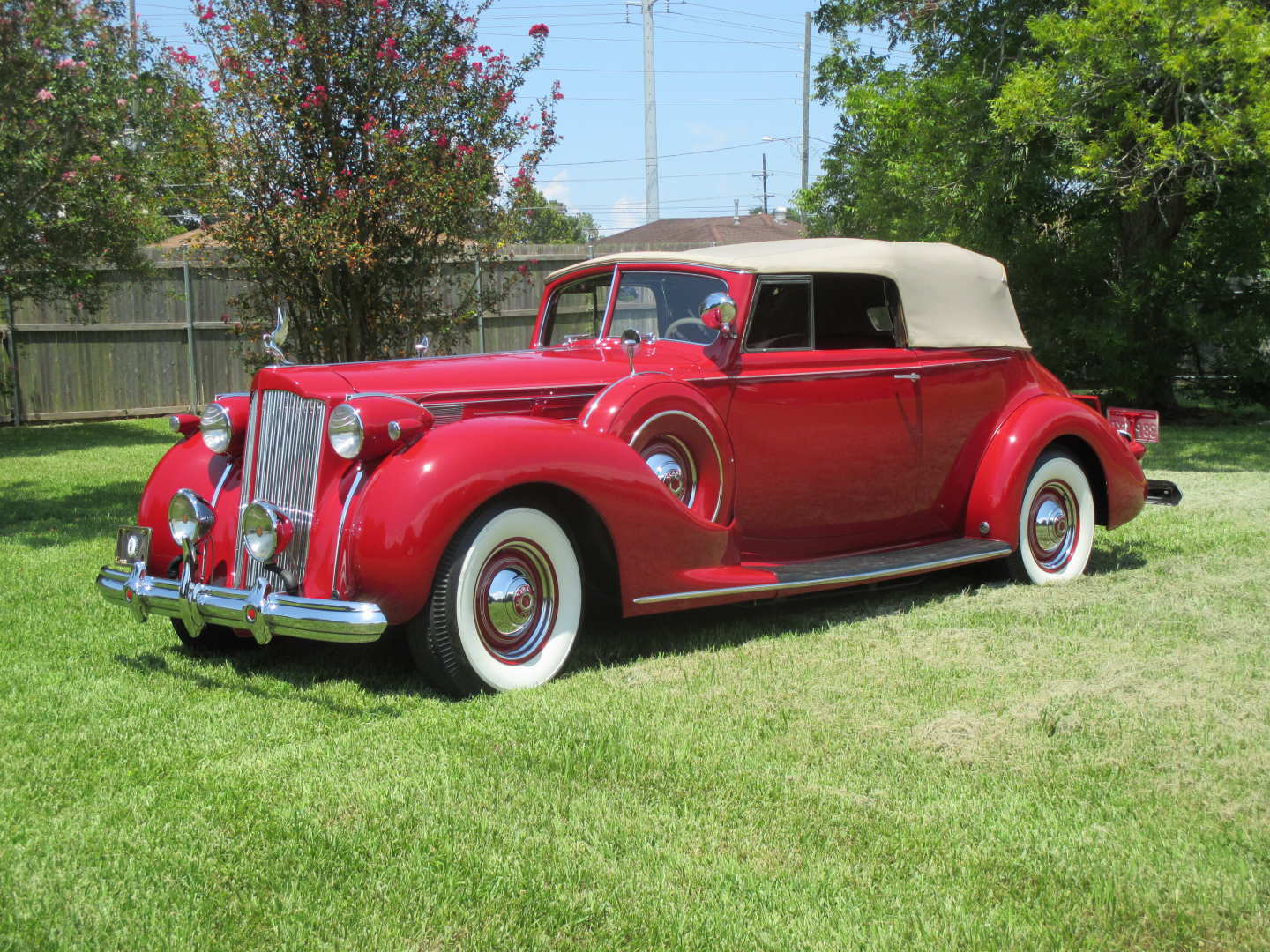 24th Image of a 1938 PACKARD TWELVE VICTORIA