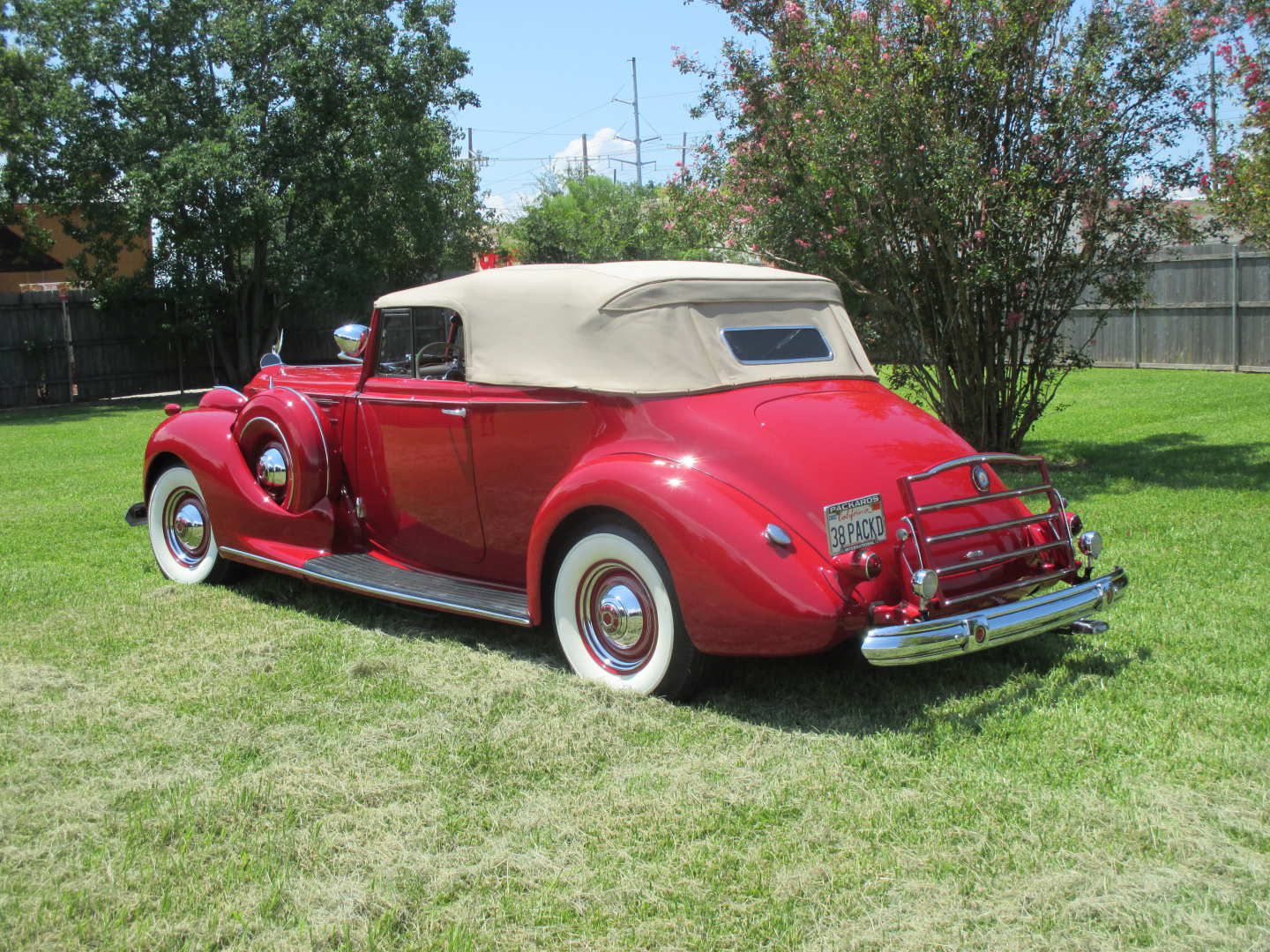 2nd Image of a 1938 PACKARD TWELVE VICTORIA