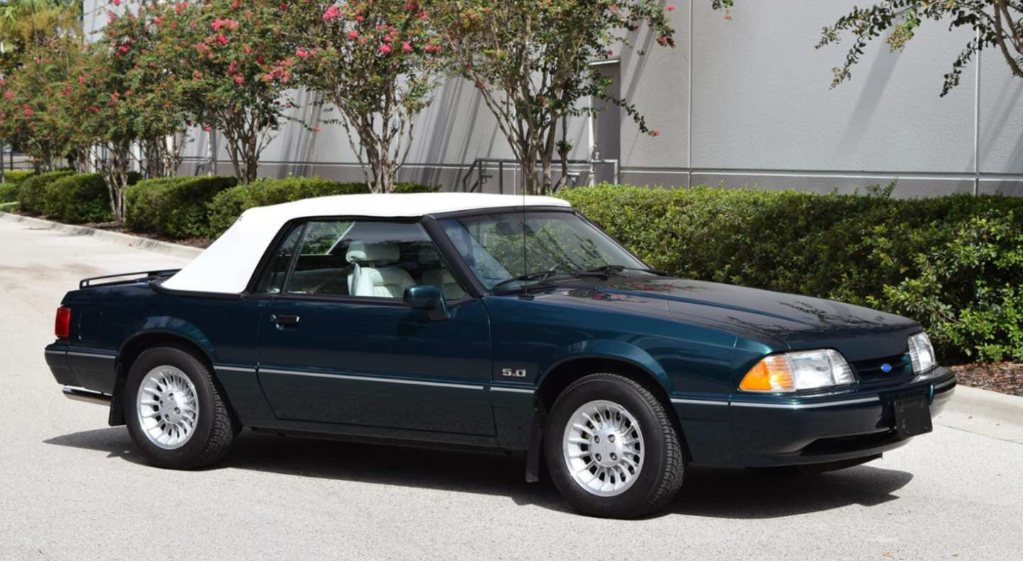 1st Image of a 1990 FORD MUSTANG LX