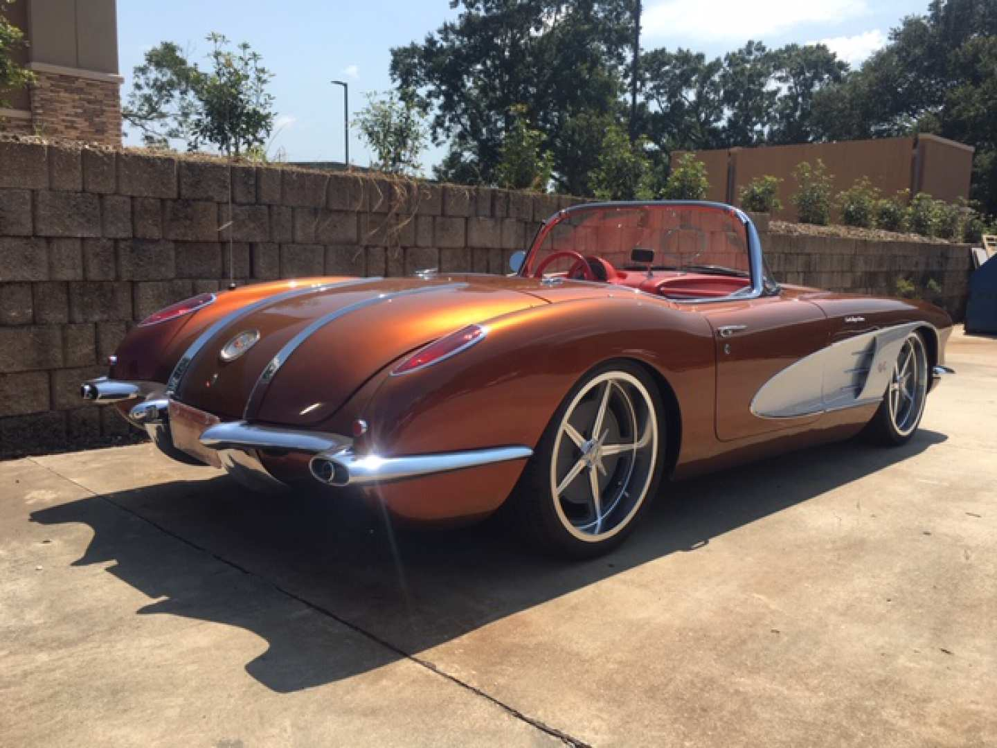 3rd Image of a 1958 CHEVROLET CORVETTE