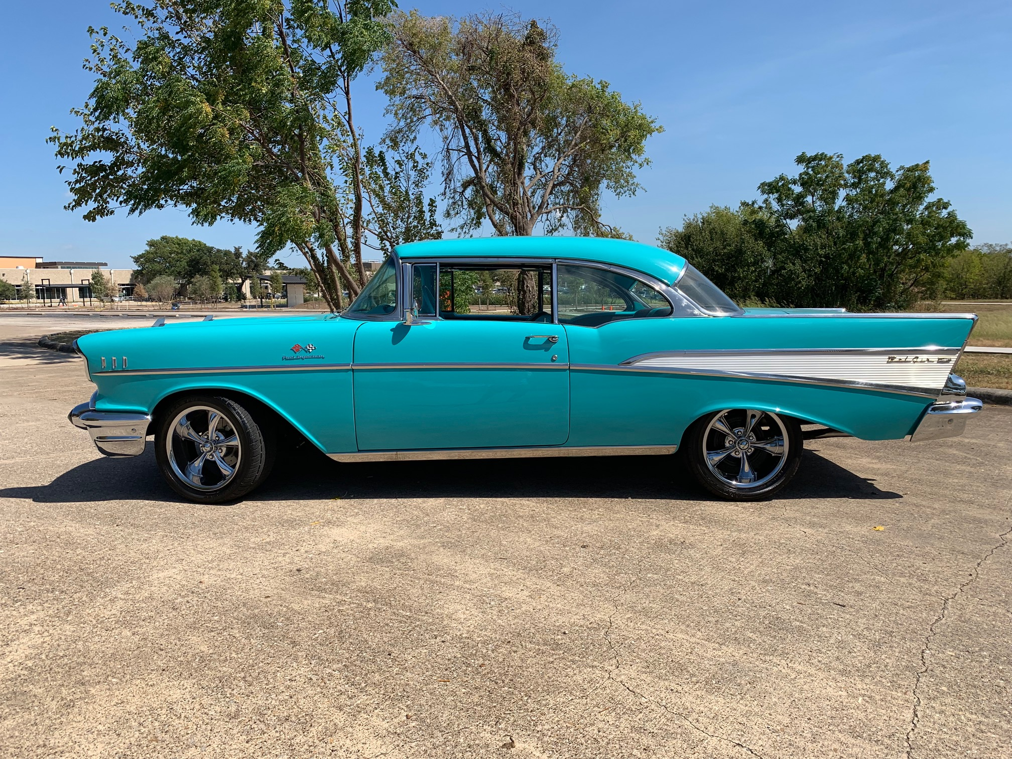 2nd Image of a 1957 CHEVROLET COUPE