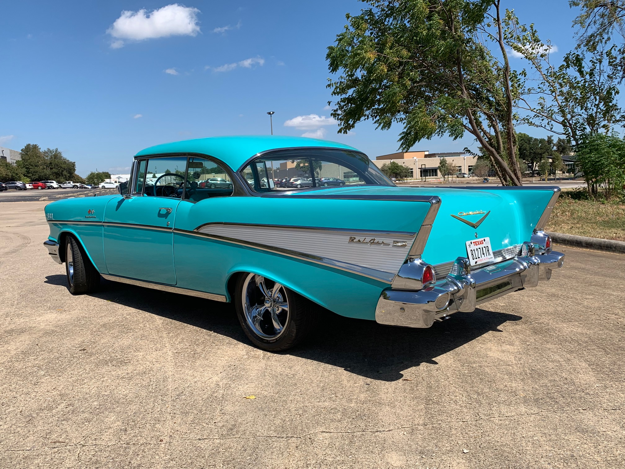 3rd Image of a 1957 CHEVROLET COUPE