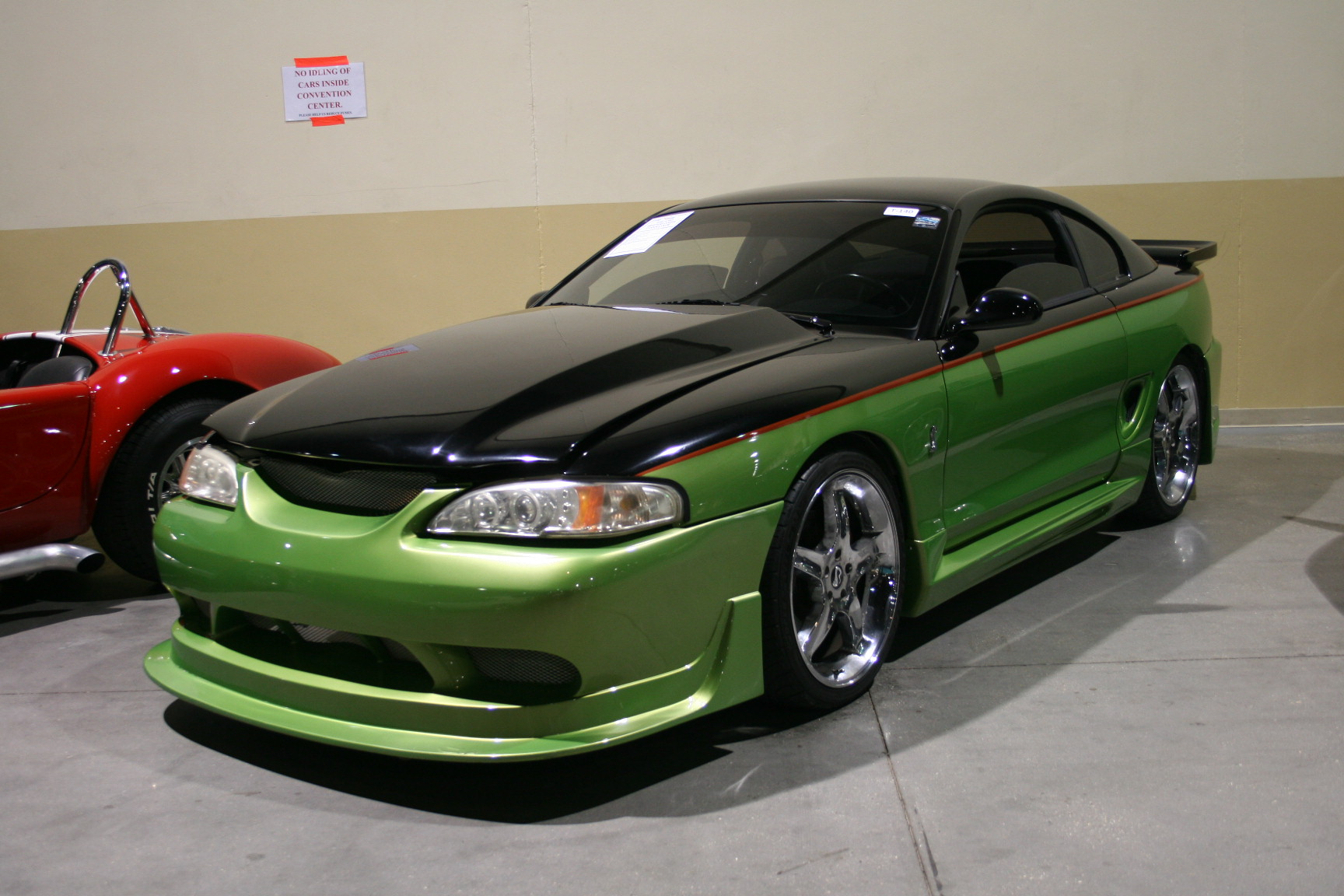 7th Image of a 1995 FORD MUSTANG COBRA