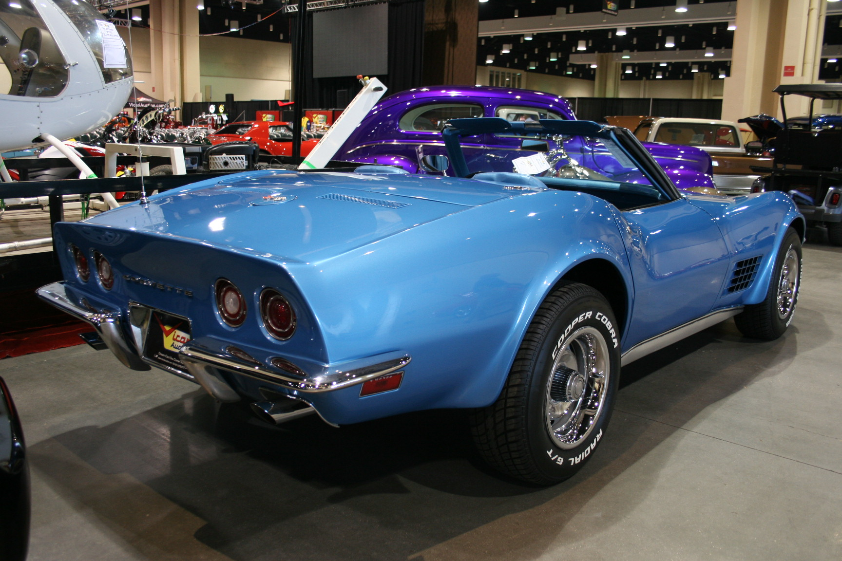 7th Image of a 1970 CHEVROLET CORVETTE