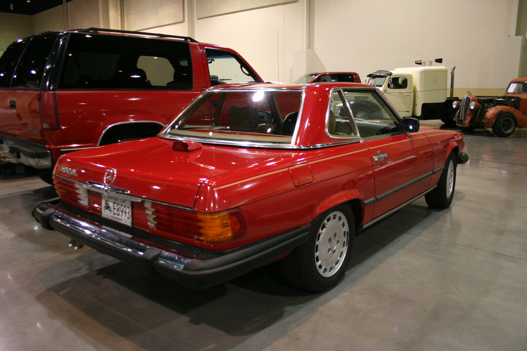 9th Image of a 1986 MERCEDES 560SL