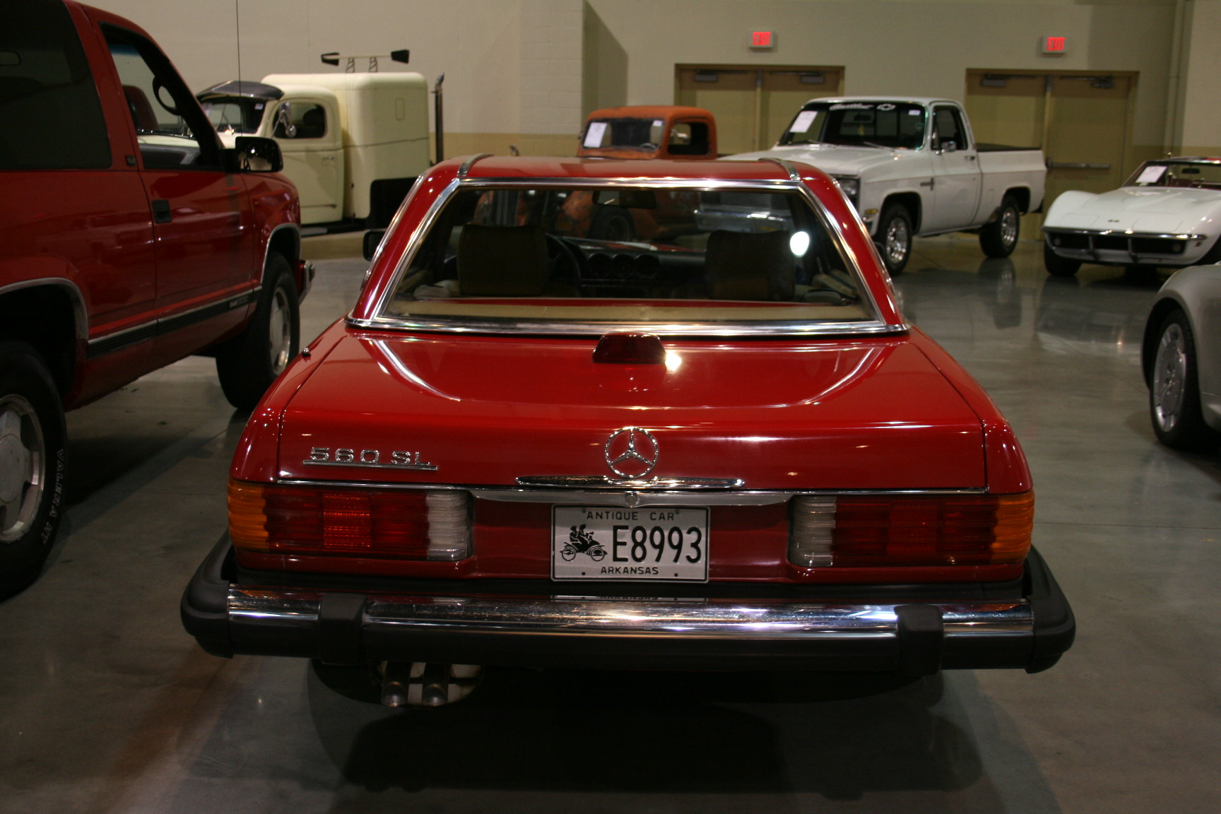 3rd Image of a 1986 MERCEDES 560SL